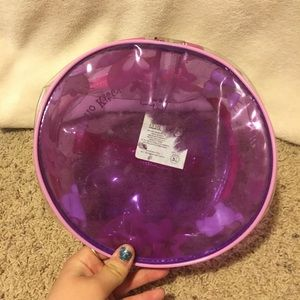 Hello Kitty Bags - Hello Kitty Pink Plastic Makeup Bag